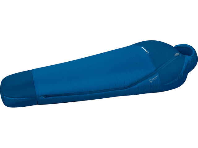 Mammut Kompakt MTI 3-Season Wide Sleeping Bag 215cm dark cyan-cobalt